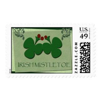 Irish Mistletoe -showcase your Irish heritage! Postage