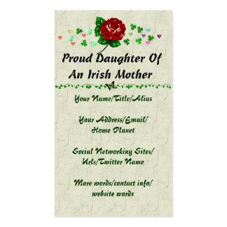Irish Mom Business Card