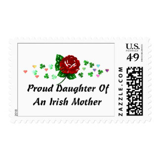 Irish Mom Postage Stamps