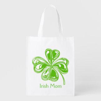 Irish Mom Reusable Grocery Bag