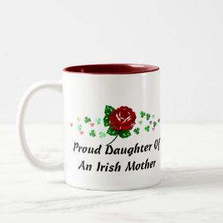 Irish Mom Two-Tone Coffee Mug