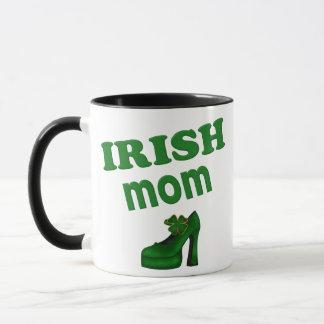 Irish Mom With High Heel Mug