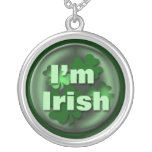 Irish Mother's Day Gift Round Pendant Necklace