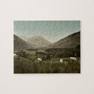 Irish Mountain Scene Jigsaw Puzzle