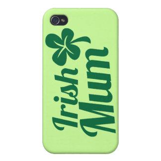 IRISH MUM ST Patricks Day design iPhone 4/4S Case