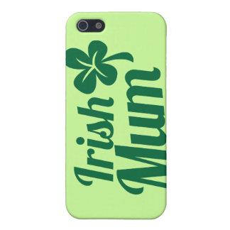 IRISH MUM ST Patricks Day design iPhone SE/5/5s Cover