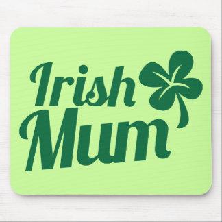IRISH MUM ST Patricks Day design Mouse Pad