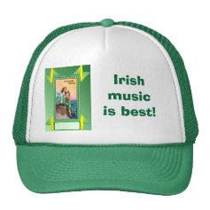 Irish music is best! mesh hats