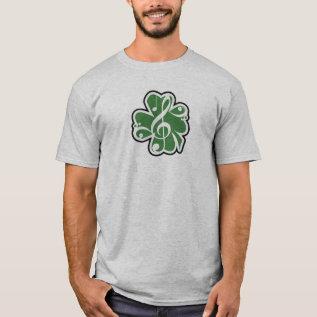 Irish Music Logo T-shirt at Zazzle
