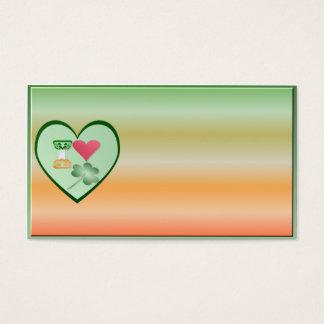IRISH-MY LOVE-business card