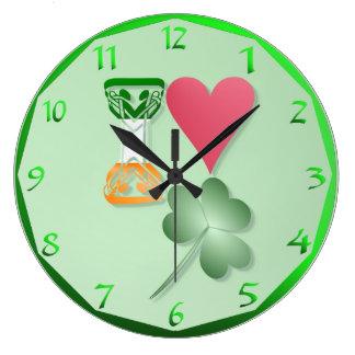IRISH-MY LOVE CLOCKS