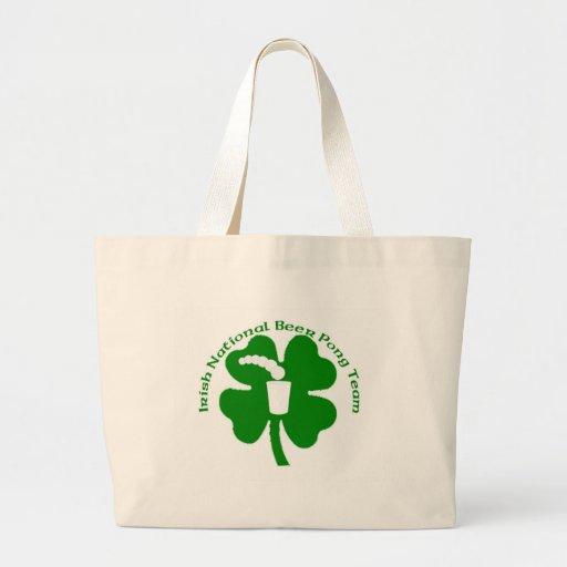 irish National Beer Pong Team Bag