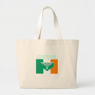 Irish National Beer Pong Team Tote Bag