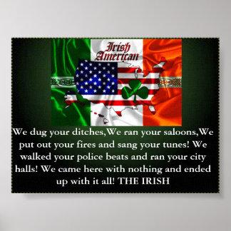 irish need not apply, irish pride,irish american poster