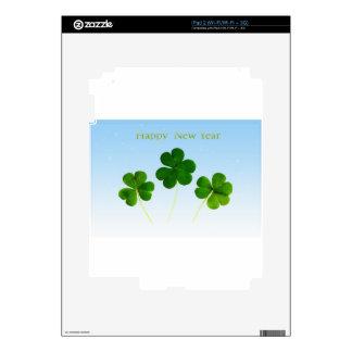 Irish New-Years-Day Decal For iPad 2