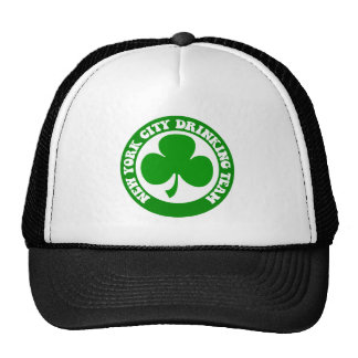 Irish New York City Mesh Hats