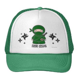 Irish Ninja! With Shurikens Hat