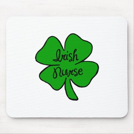 Irish Nurse Mouse Pad