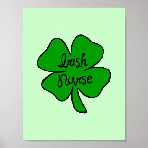 Irish Nurse Posters