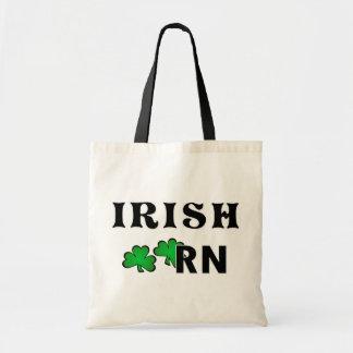 Irish Nurse RN Budget Tote Bag