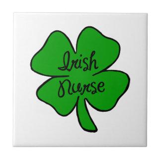 Irish Nurse Tile