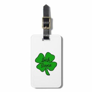 Irish Nurse Bag Tags Personalized