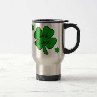 Irish Nurse Travel Mug