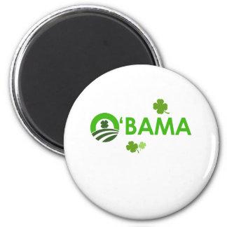 Irish Obama 2 Inch Round Magnet