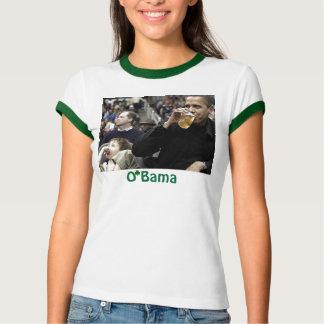 Irish O'Bama on Patty's day Tee Shirt