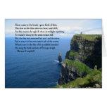 Irish  Ocean Greeting Card