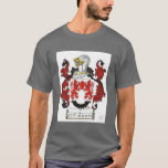 Irish O'Flaherty clan crest design T-Shirt