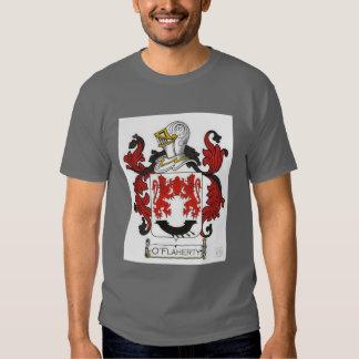 Irish O'Flaherty clan crest design Tee Shirt