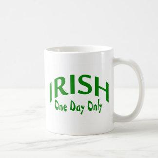 Irish One Day Only Classic White Coffee Mug