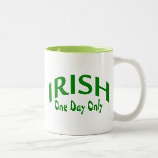 Irish One Day Only Two-Tone Coffee Mug