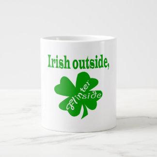 irish outside flinter inside jumbo mug