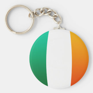 Irish Oval Flag Keychain
