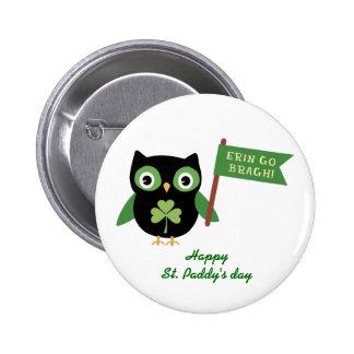 Irish Owl Pin