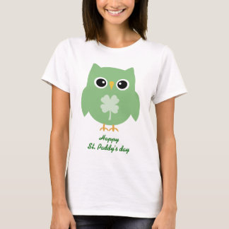 Irish Owl T-Shirt