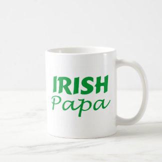 Irish Papa Classic White Coffee Mug