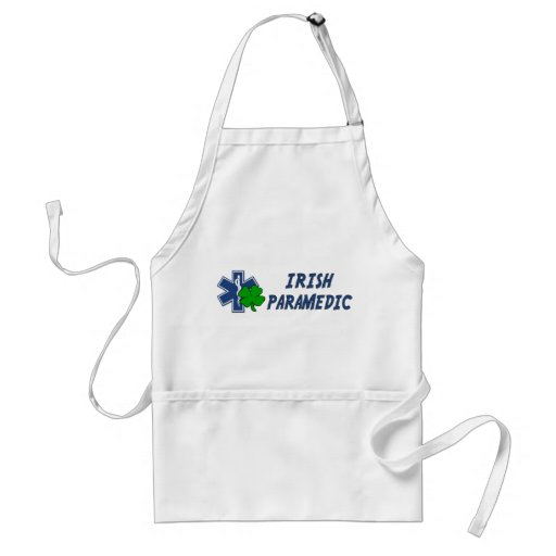Irish Paramedic Adult Apron