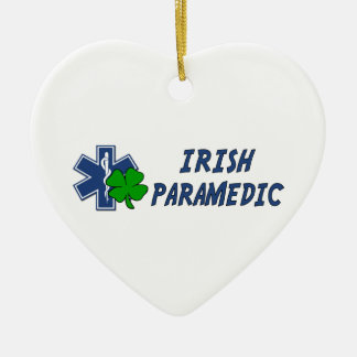 Irish Paramedic Ceramic Ornament