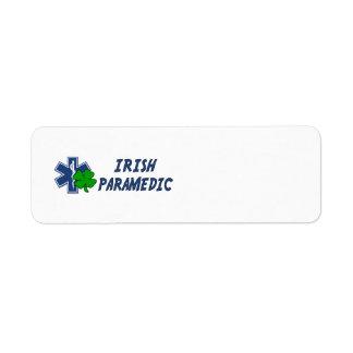 Irish Paramedic Label