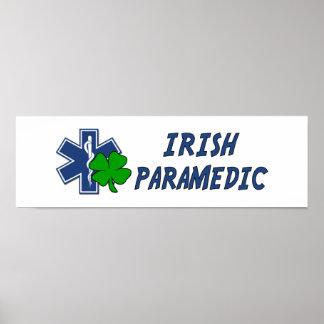 Irish Paramedic Poster
