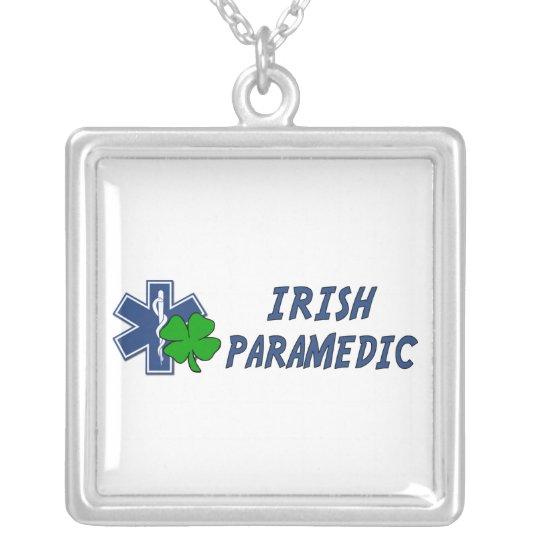Irish Paramedic Silver Plated Necklace