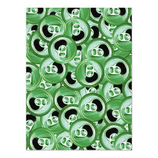 Irish Party Time 6.5x8.75 Paper Invitation Card