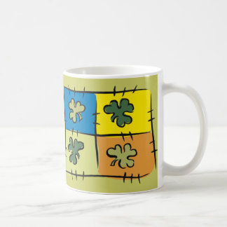 Irish Patchwork Mug