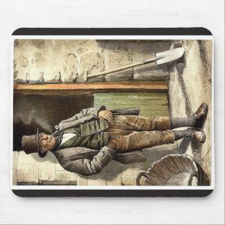 Irish Peasant Farmer classic Photochrom Mousepad