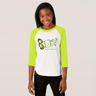 Irish Phrase girls'-3/4-sleeve-raglan-t-shirt T-Shirt