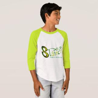 Irish Phrase image Boys'-3/4 Sleeve Raglan-T-Shirt T-Shirt