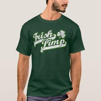 Irish Pimp Logo St. Patrick's Day Funny T-shirt